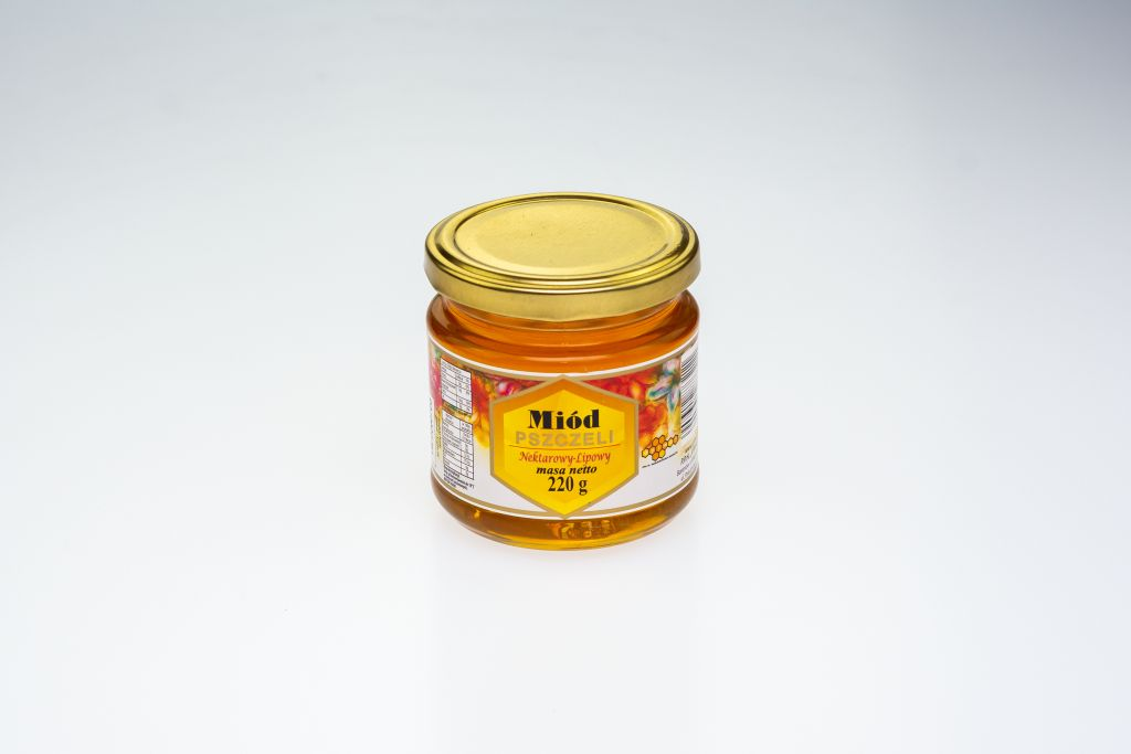 Miód lipowy 220 g