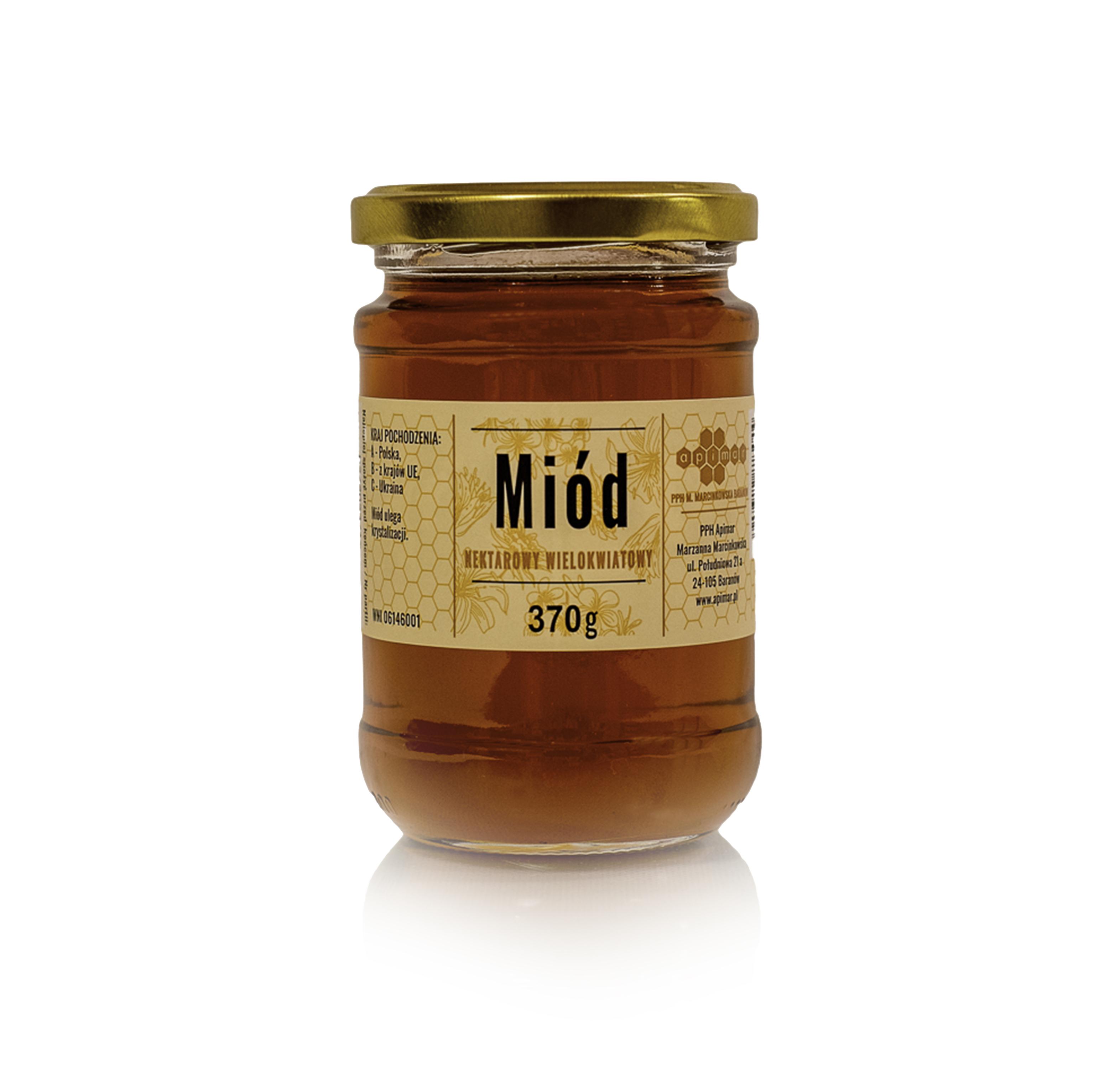 Polyfloral honey 370g