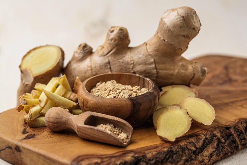 assortment-ginger-wooden-board 1